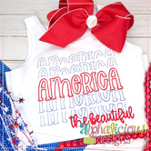 America the Beautiful-Scribble