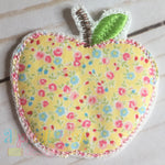 Apple Feltie- Triple Bean - Alphalicious Designs