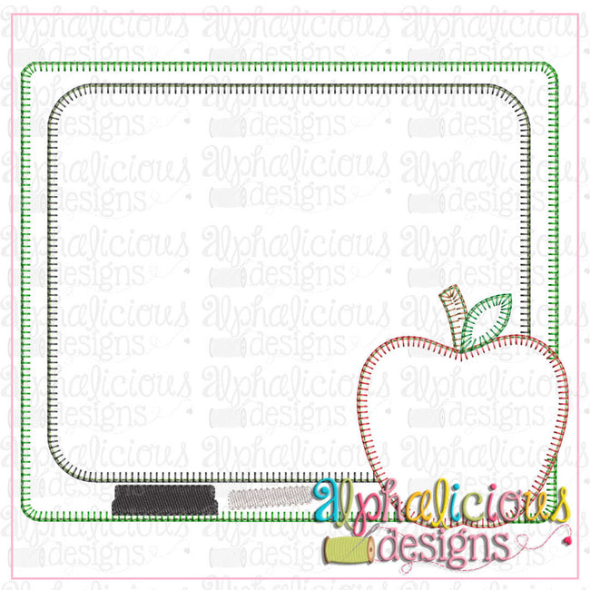 Back To School Blackboard-Blanket - Alphalicious Designs