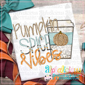 Pumpkin Spice Vibes- Glitter -Printable