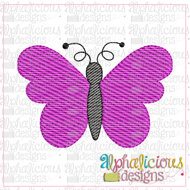 Butterfly-full-MINI-Sketch - Alphalicious Designs