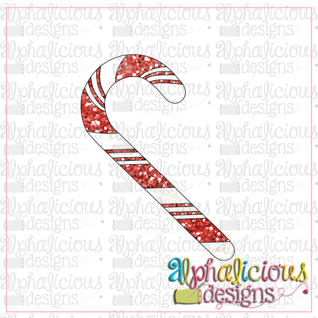 photo relating to Candy Cane Printable identify Sweet Cane NO bow-LTC-Printable