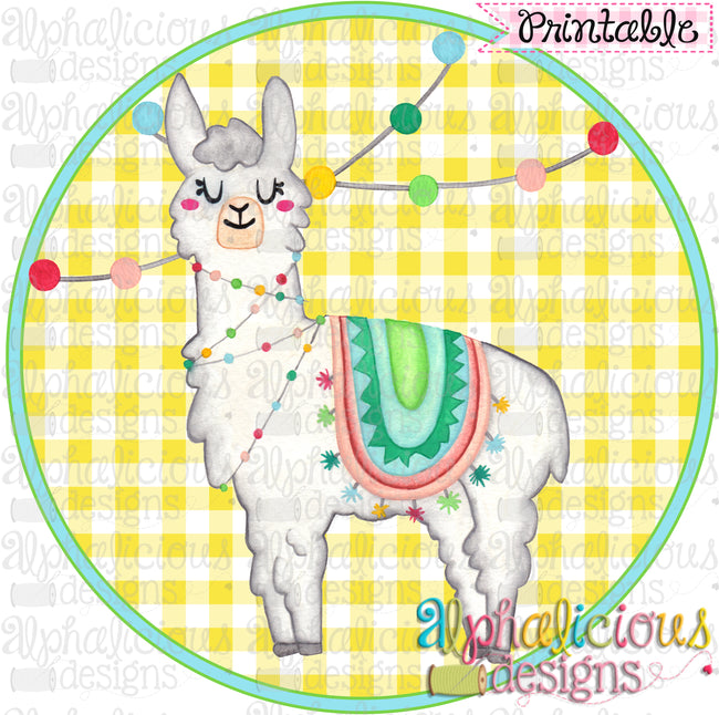 photograph relating to Llama Printable identified as Occasion Llama-Printable