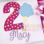 Celebration Numbers 0-9-Zigzag - Alphalicious Designs
