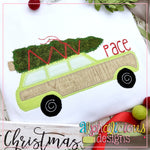 Christmas Wagon-Blanket