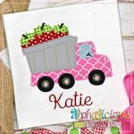 Dump Truck With Strawberries-Blanket - Alphalicious Designs