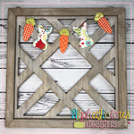 Easter Bunting-Rabbits and Carrots