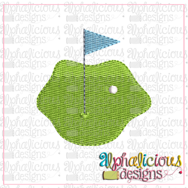 Golf Green-Mini-Fill - Alphalicious Designs