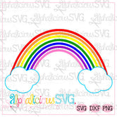 Happy Rainbow- SVG