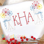 Maggie Scribble Vintage Embroidery Font - Alphalicious Designs