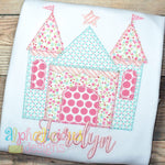 Pretty Princess Castle-Blanket - Alphalicious Designs