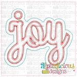 Joy Ornament - Alphalicious Designs