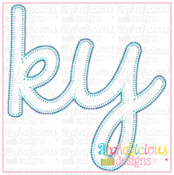 KY Applique Design- Blanket - Alphalicious Embroidery Designs