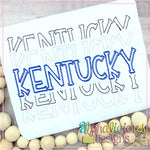 Kentucky Stacked-Scribble
