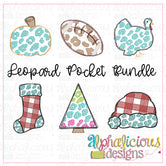 Leopard Pocket Designs BUNDLE-Sketch