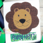Lucky Lion- Blanket - Alphalicious Designs