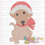 Mrs Clause Pup-Sketch