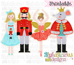 Nutcracker Group-Offset-Printable - Alphalicious Designs