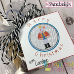 Nutcracker Mouse King In Circle-Printable - Alphalicious Designs