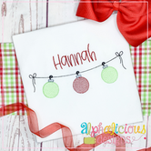 Ornament Bunting - Sketch