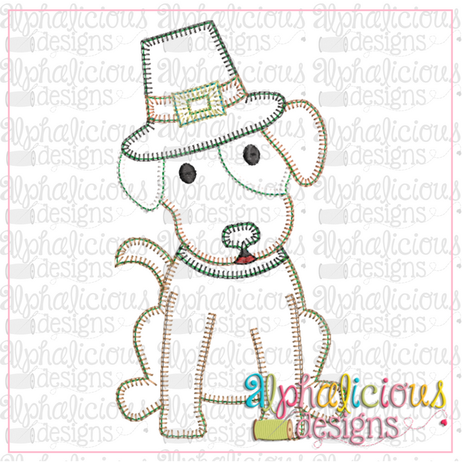 Pilgrim Dog-Blanket - Alphalicious Designs
