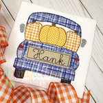 Pumpkin Farm Truck-Triple Bean - Alphalicious Designs
