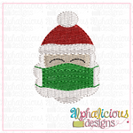 Santa with Mask-Mini-Fill - Alphalicious Designs