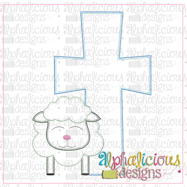 Sheep and Cross-Blanket