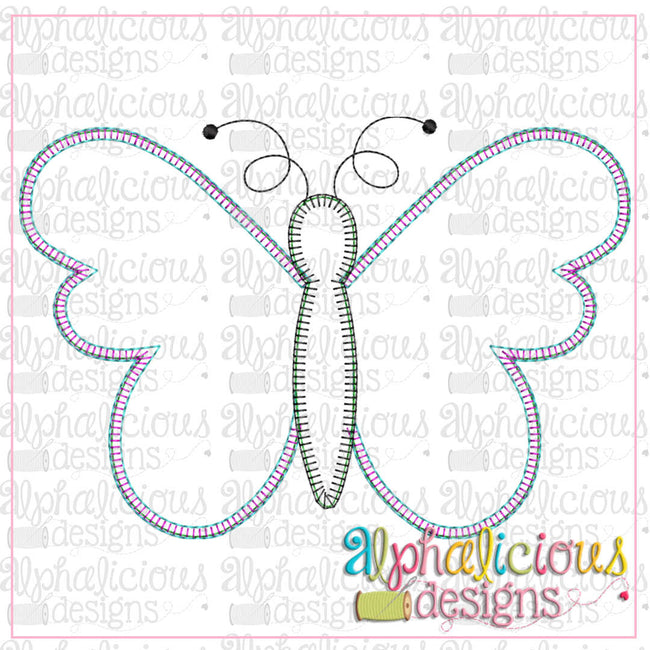 Simple Butterfly-Blanket - Alphalicious Designs