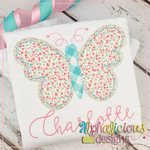 Simple Butterfly-Triple Bean - Alphalicious Designs