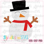 Snowboy with Hat- SVG