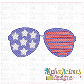 Stars and Stripes Shades-MINI-Sketch