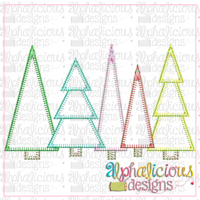 Trees-Blanket - Alphalicious Designs