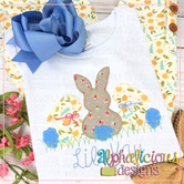 Sweet and Simple Bunny Trio- Blanket