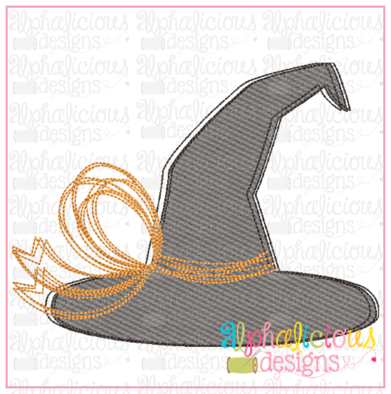 Witch's Hat- Sketch - Alphalicious Designs