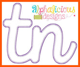 Tennessee- TN- Applique Design Bundle