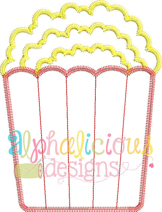 Perfect Popcorn-Zig Zag-Applique