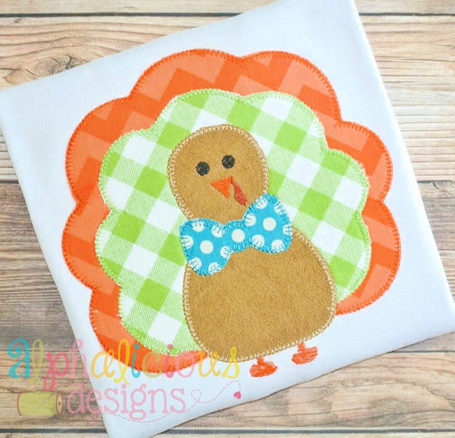 Mr. Gobble Gobble- Blanket - Alphalicious Designs