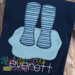 Rain Boots In Puddle- Blanket - Alphalicious Designs