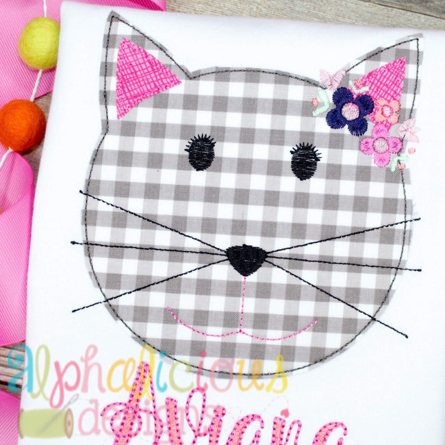 Pretty Kitty- Triple Bean - Alphalicious Designs