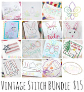 Vintage/Scribble BUNDLE