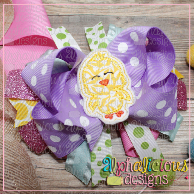 Little Chick Feltie - Alphalicious Designs