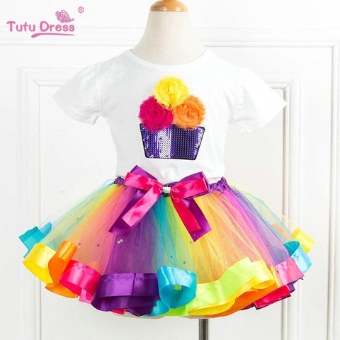 Rainbow Princess TuTu Outfit