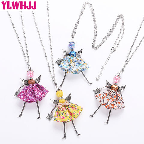 Multicolor Doll Necklaces