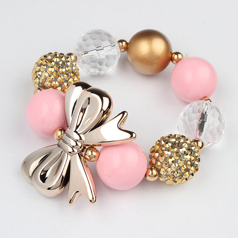 Bubble Gum Toddler Bracelet