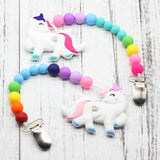 Unicorn Teething Clip