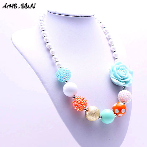 Baby Flower Beads Necklace