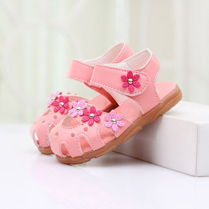 Lovely Cherry Baby Sandals