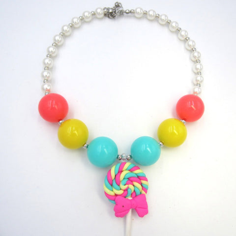 Kids Lollipop Necklace