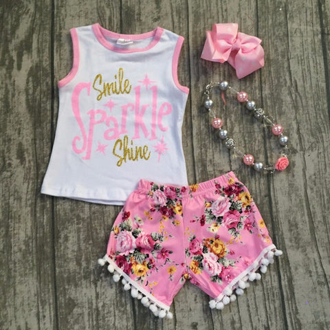 """Smile, Sparkle, Shine"" Outfit"